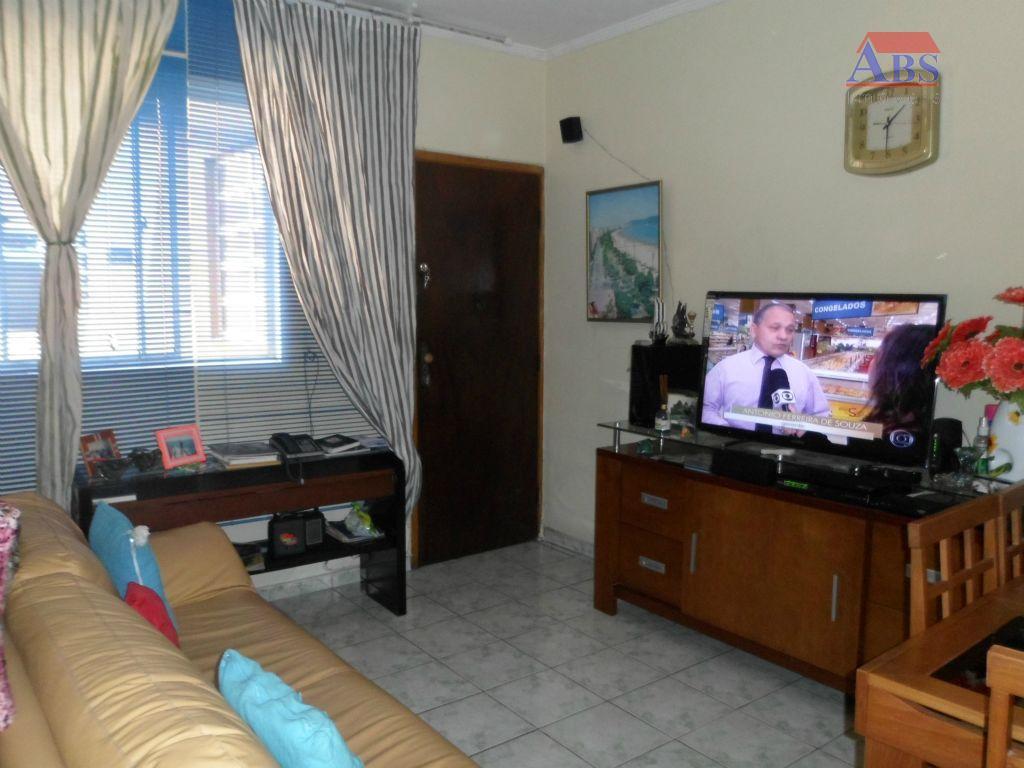 Apartamento  residencial à venda, Vila São Jorge, Santos.
