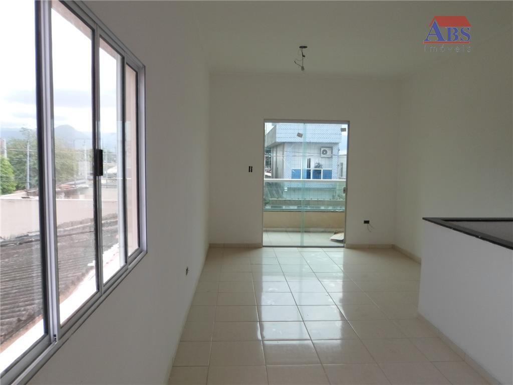 Casa Sobreposta Alta residencial à venda, Esplanada dos Barreiros, São Vicente.