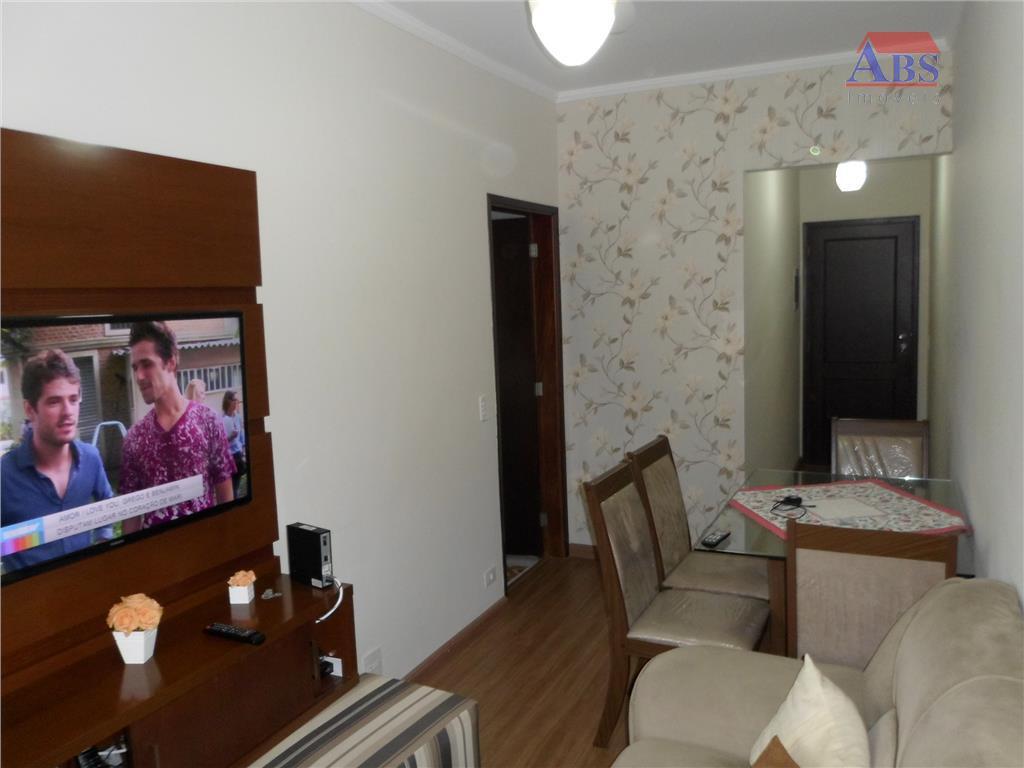 Apartamento  residencial à venda, Vila São Jorge, São Vicente.