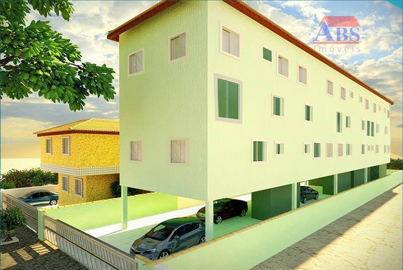 Apartamento  residencial à venda, Parque São Vicente, São Vicente.