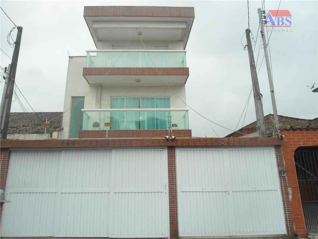 Casa Sobreposta Alta Duplex à venda, Embaré, Santos.