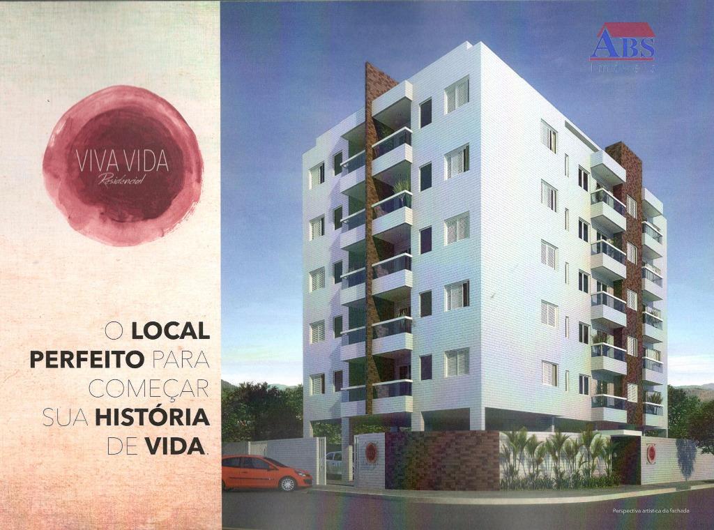 Viva Vida Residencial - Aptos 1 e 2 dorm com 1 vaga - Elevador e Lazer na Cobertura em Cubatao