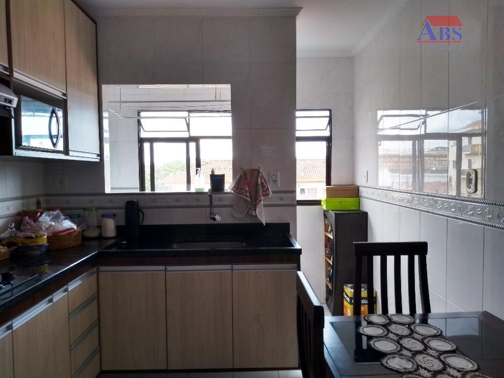 Apartamento residencial à venda, Jardim Casqueiro, Cubatão - AP0951.