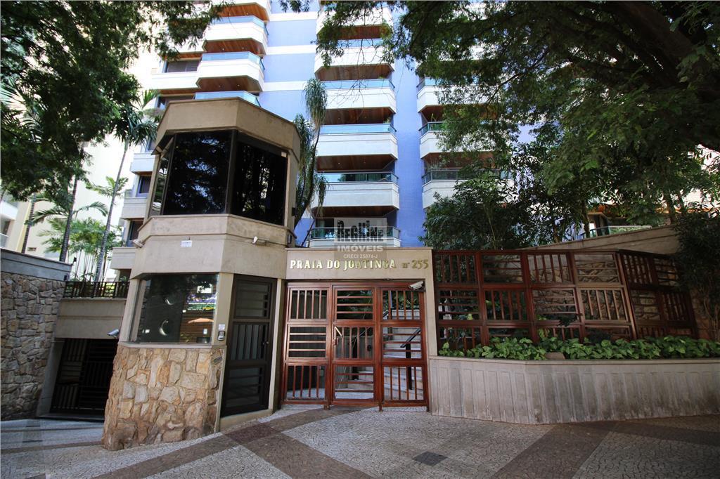 Cambuí - Apartamento Nobre e Alto Padrão com 200m² em prédio desejado.