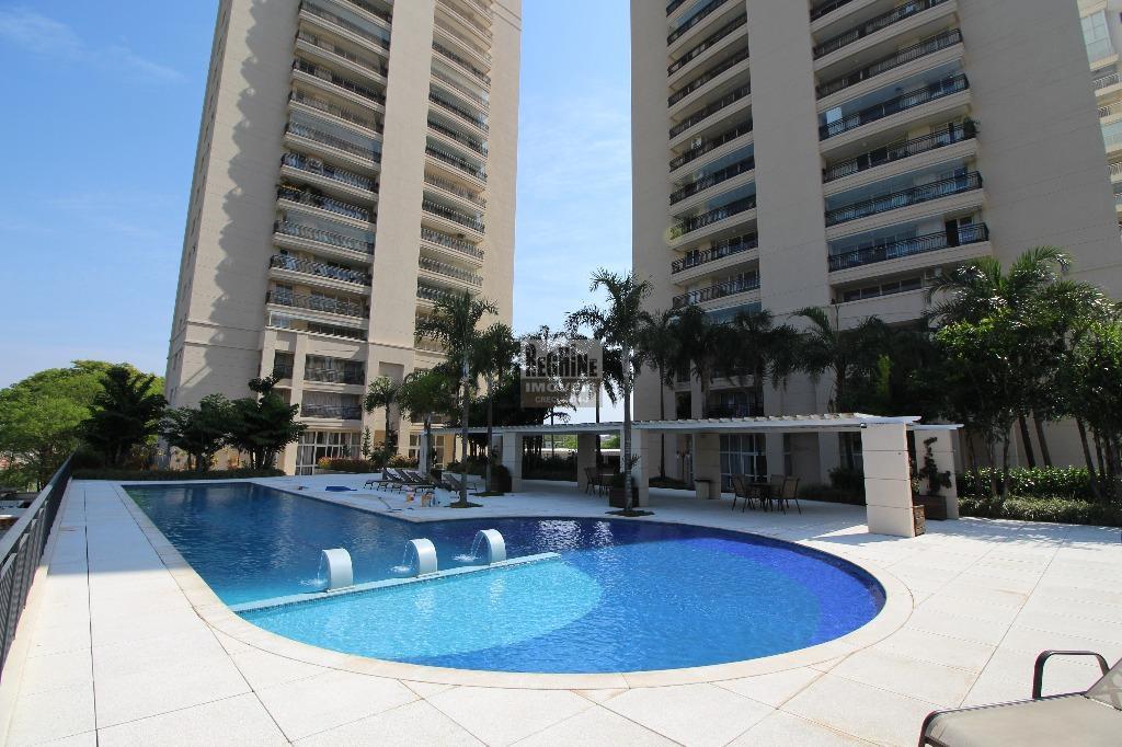 Iguatemi - Apartamento Garden 1º andar com quintal e ampla sala com no lavabo térreo! 4 dormitórios sendo 2 suítes em 193m²