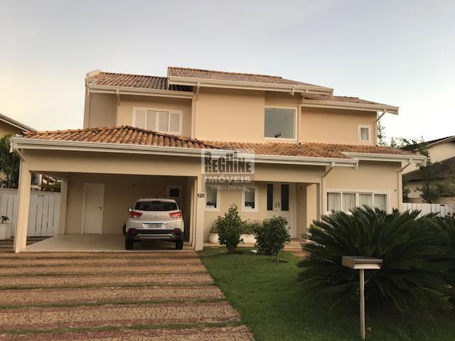 Alphaville Campinas - Ótima casa para venda na parte alta do condomínio.  Terreno com 752m² e área construída de 400m².