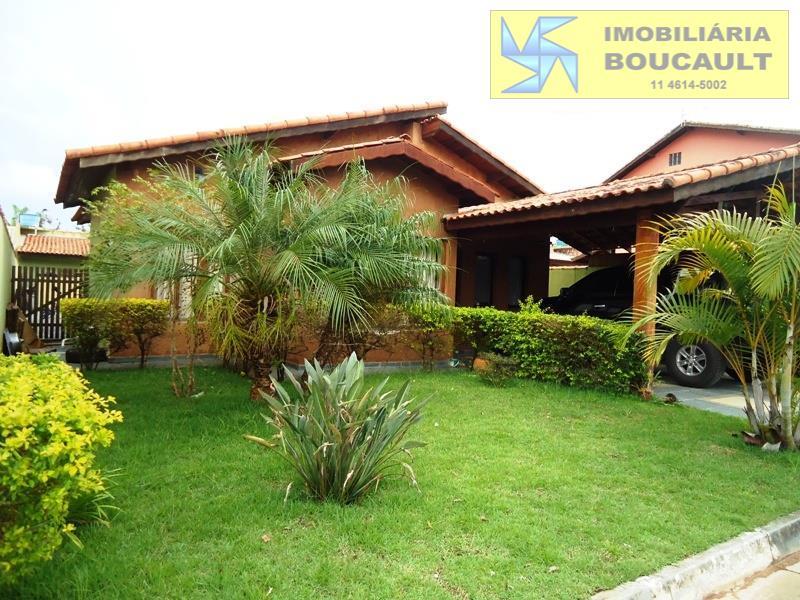 Casa térrea em condomínio - Vargem Grande Paulista - SP.