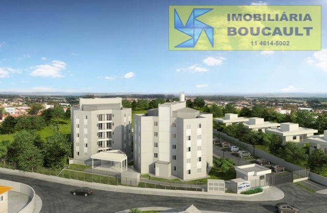 Apartamento novo em prédio com elevador em Cotia