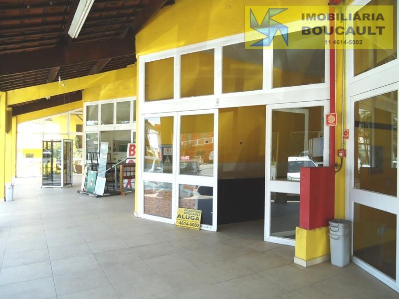 Loja comercial p/ locação, Estrada de Caucaia do Alto, Km 02 nº 2.000 Centro Comercial  Boulevard Boucault - Vargem Grande Pta.