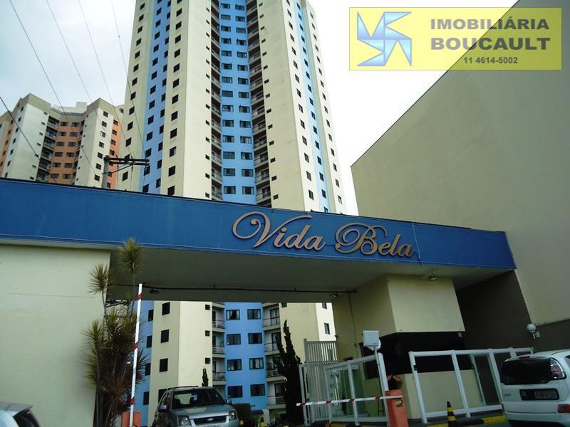 Apartamento residencial à venda, Parque Taboão, Taboão da Serra.