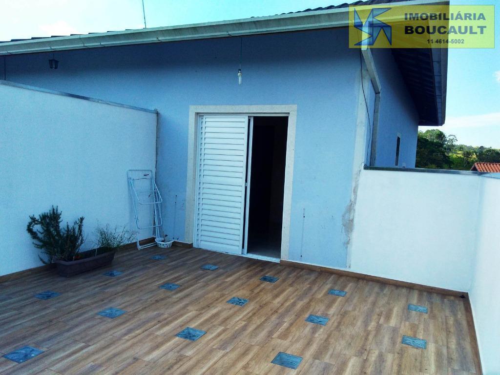 Casa com 2 dormitórios à venda, 120 m² por R$ 275.000 - Jardim Monte Verde (Caucaia do Alto) - Cotia/SP