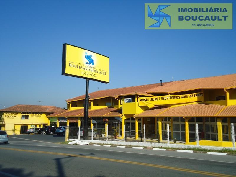 Sala comercial p/ locação, Estrada de Caucaia do Alto, Km 02 n. 2000 Centro Comercial Boulevard Boucault  Vargem Grande Paulista