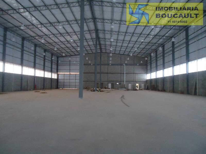 Galpão Industrial para locação em Cotia, SP.