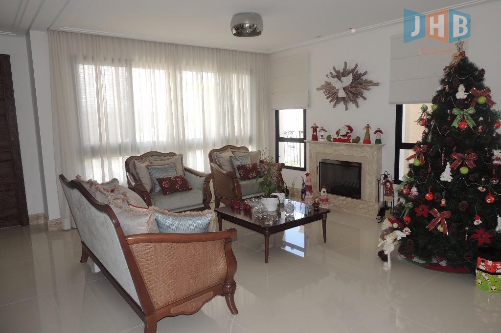Sobrado residencial à venda, Condomínio Residencial Jaguary, São José dos Campos.