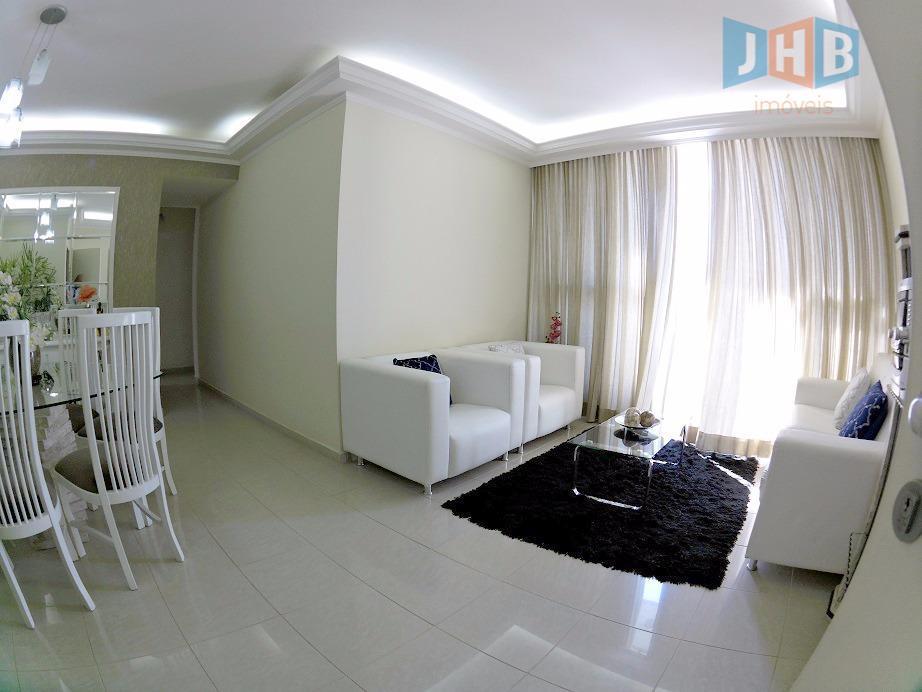 Apartamento com 4 dormitórios à venda, 115 m² - Jardim Aquarius - São José dos Campos/SP