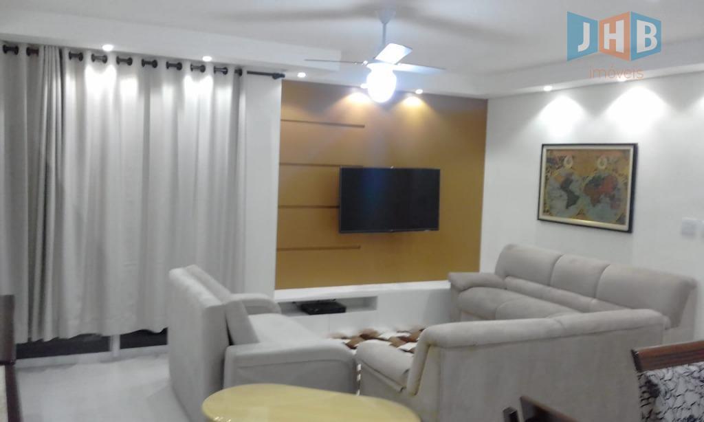 Apartamento com 3 dormitórios à venda, 115 m² por R$ 475.000 - Bosque dos Eucaliptos - São José dos Campos/SP