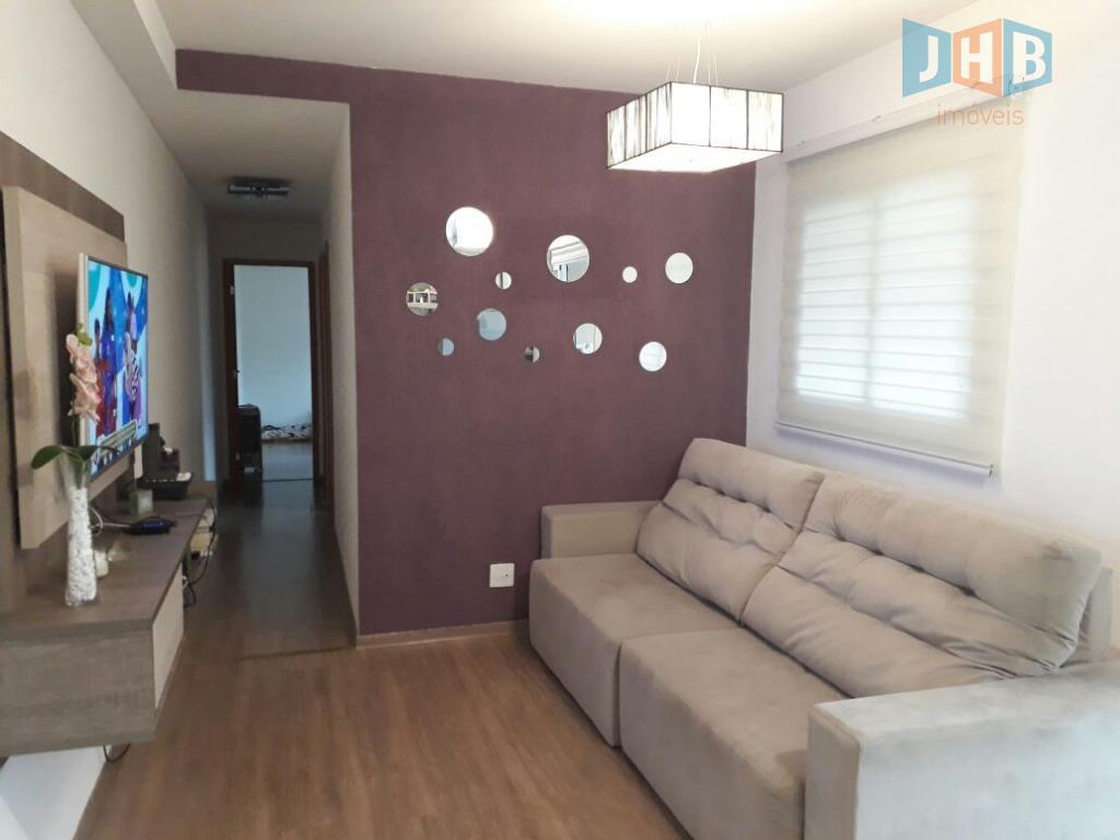Apartamento com 2 dormitórios à venda, 70 m² - Conjunto Residencial Trinta e Um de Março - São José dos Campos/SP