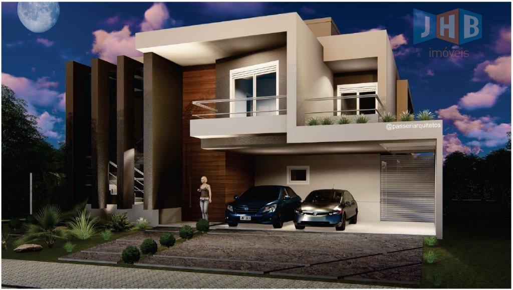 Sobrado com 4 dormitórios à venda, 418 m² por R$ 2.100.000 - Urbanova - São José dos Campos/SP
