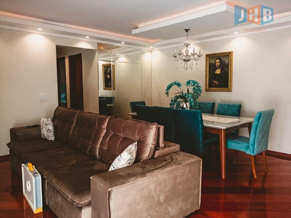 Apartamento com 4 dormitórios à venda, 118 m² por R$ 605.000 - Bosque dos Eucaliptos - São José dos Campos/SP