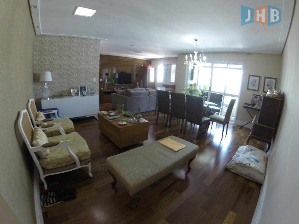 Apartamento com 3 dormitórios à venda, 129 m² por R$ 690.000 - Jardim Aquarius - São José dos Campos/SP