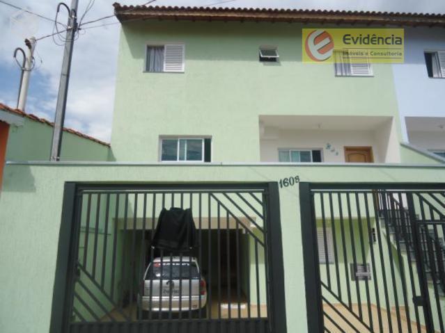 Casa residencial à venda, Vila Humaitá, Santo André.