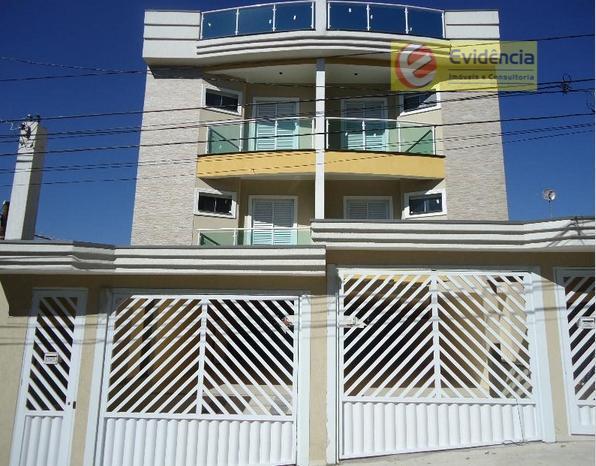 Apartamento  residencial para locação, Vila Francisco Matarazzo, Santo André.