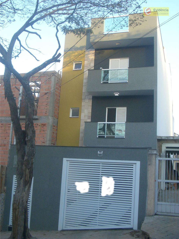 Apartamento residencial à venda, Vila Boa Vista, Santo André - AP0516.