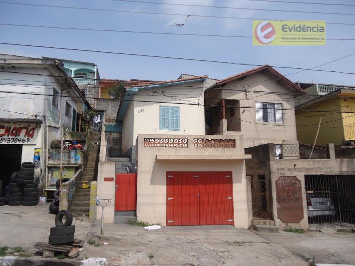 Casa residencial à venda, Vila Bela Vista, Santo André - CA0105.