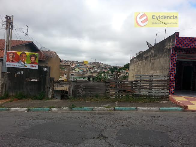 Terreno  residencial à venda, Jardim do Estádio, Santo André.