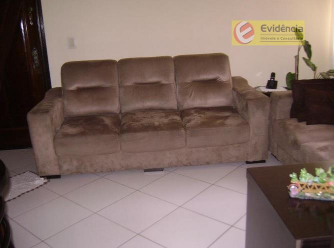 Apartamento residencial à venda, Jardim Alvorada, Santo André - AP0605.