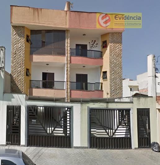 Apartamento  residencial à venda, Vila Pires, Santo André.