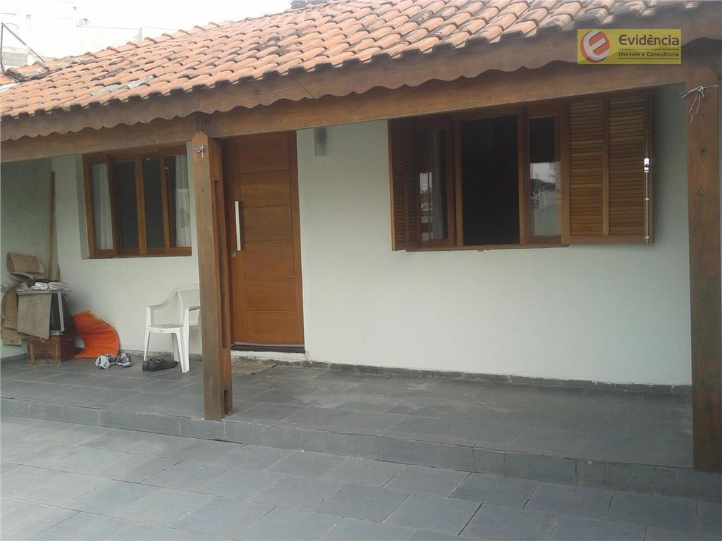 Casa  residencial à venda, Jardim, Santo André.