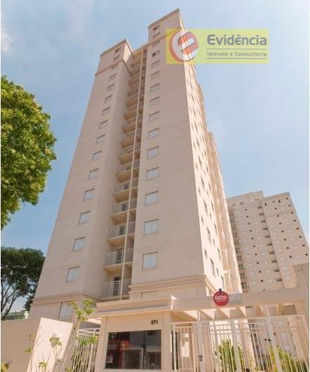 Apartamento  residencial para venda e locação, Vila Alzira, Santo André.