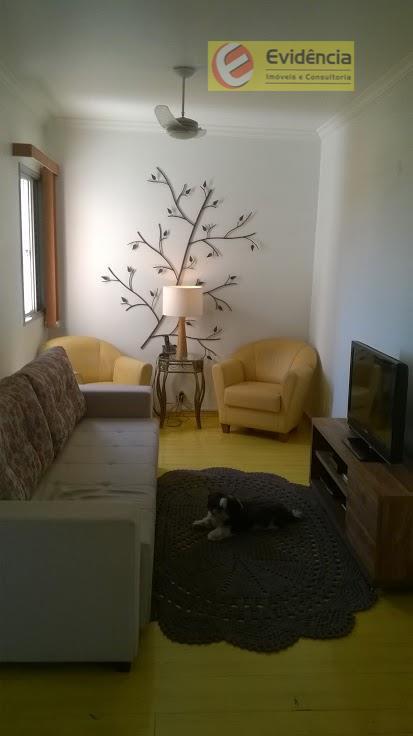 Apartamento residencial à venda, Vila Guiomar, Santo André - AP0638.