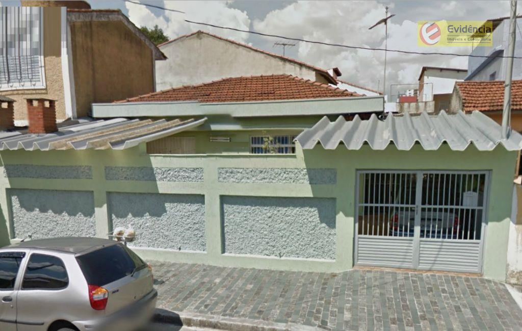 Casa residencial à venda, Vila Scarpelli, Santo André - CA0024.