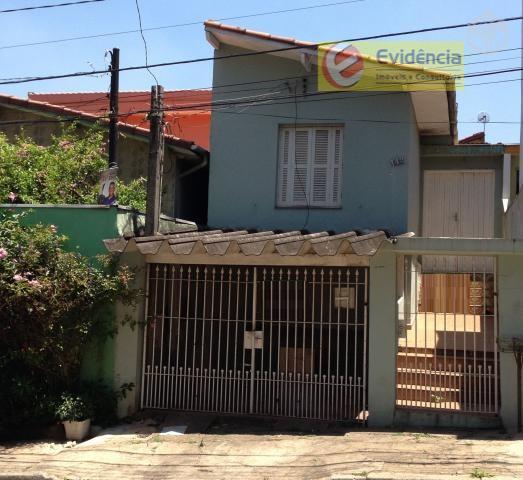 Casa residencial à venda, Vila Scarpelli, Santo André - CA0161.