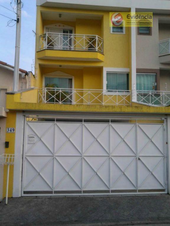 Sobrado residencial à venda, Vila Floresta, Santo André - SO0302.