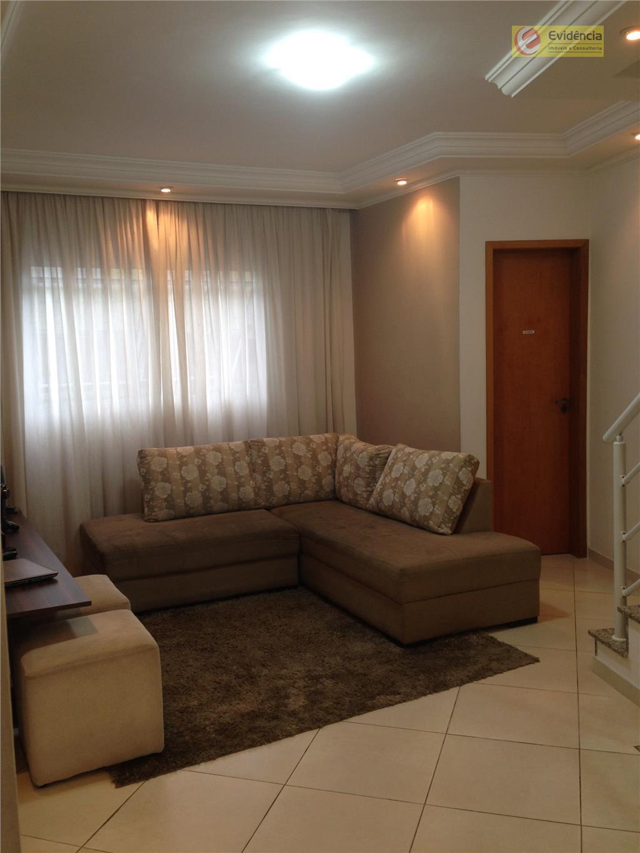 Sobrado residencial à venda, Vila Linda, Santo André - SO0312.