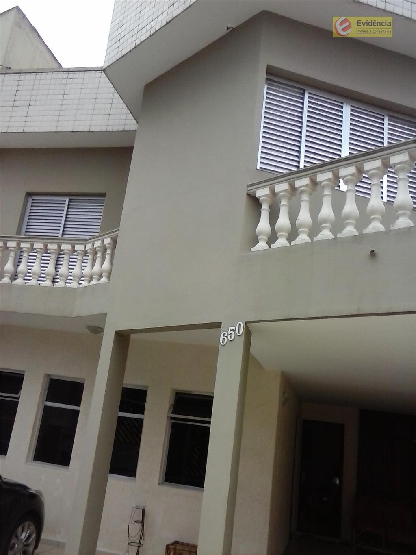 Sobrado residencial para venda e locação, Parque Bandeirante, Santo André.