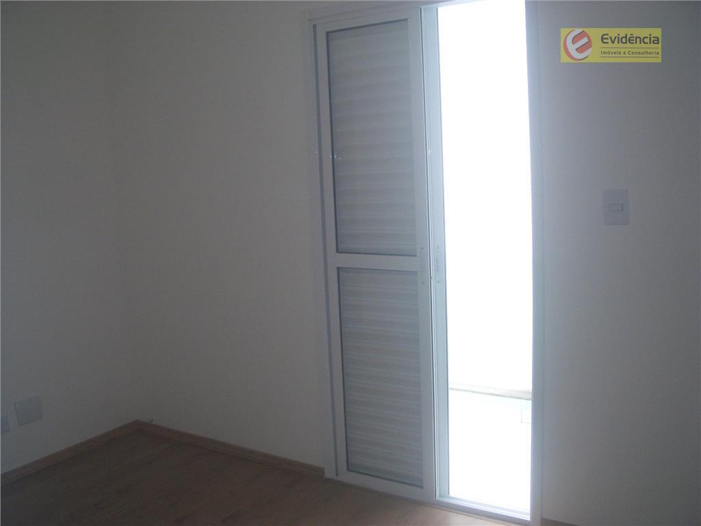 Apartamento residencial à venda, Vila América, Santo André.