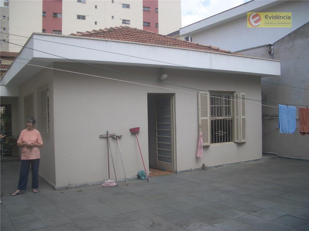 Casa residencial à venda, Vila Bastos, Santo André.