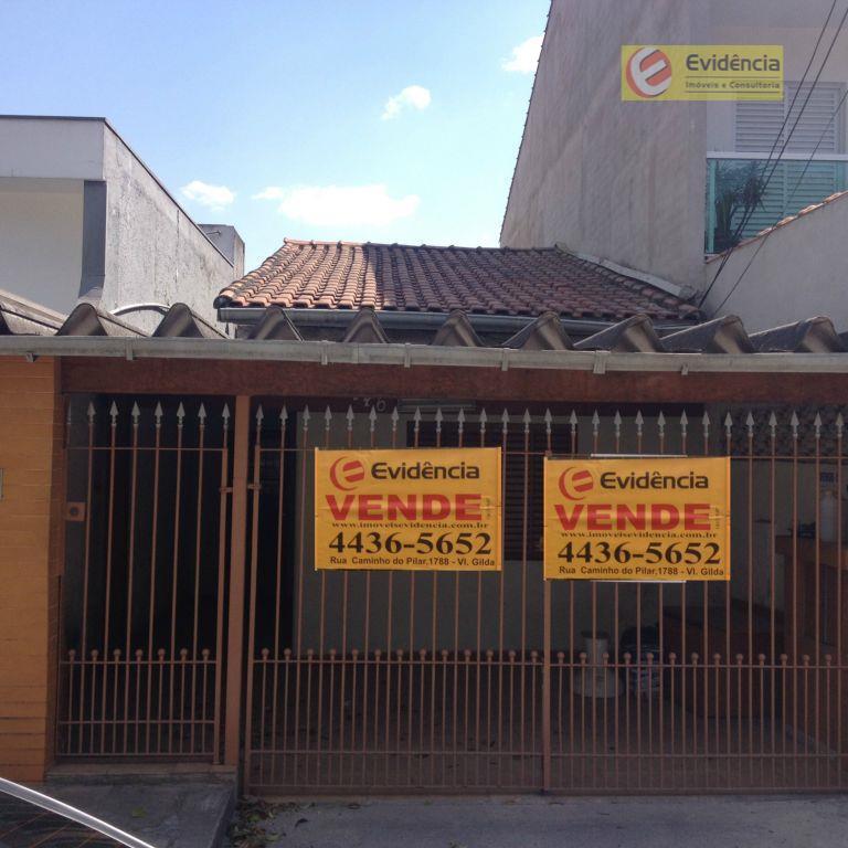 Casa residencial à venda, Paraíso, Santo André.