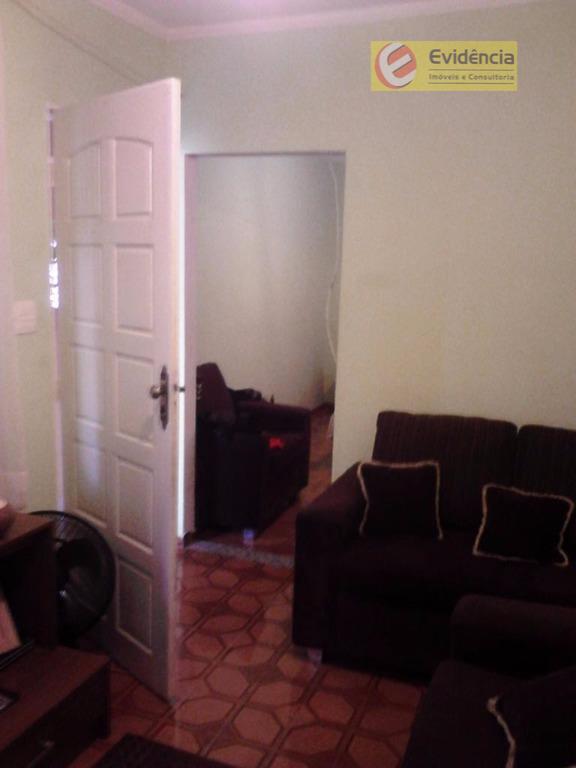 Casa residencial à venda, Jardim Cristiane, Santo André.