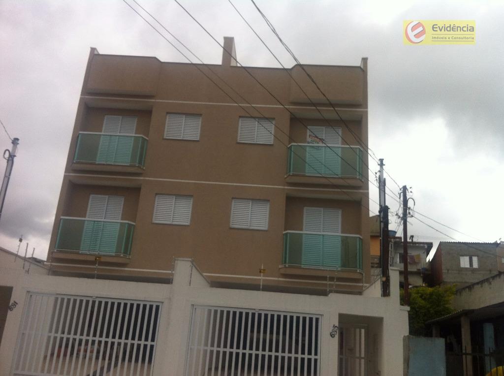 Cobertura residencial à venda, Vila Linda, Santo André.