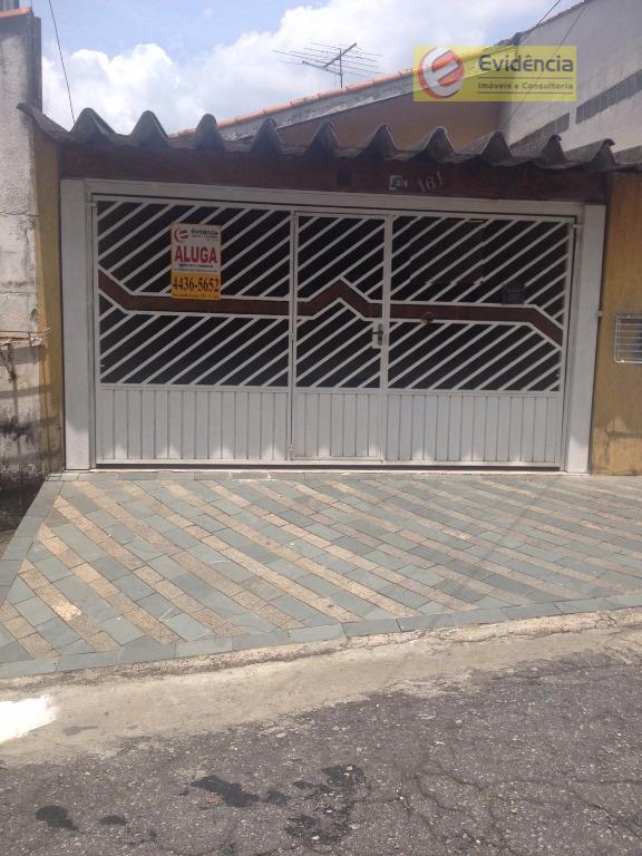 Casa residencial para locação, Jardim Cambuí, Santo André.