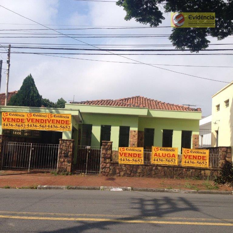 Casa residencial para venda e locação, Vila Pires, Santo André.
