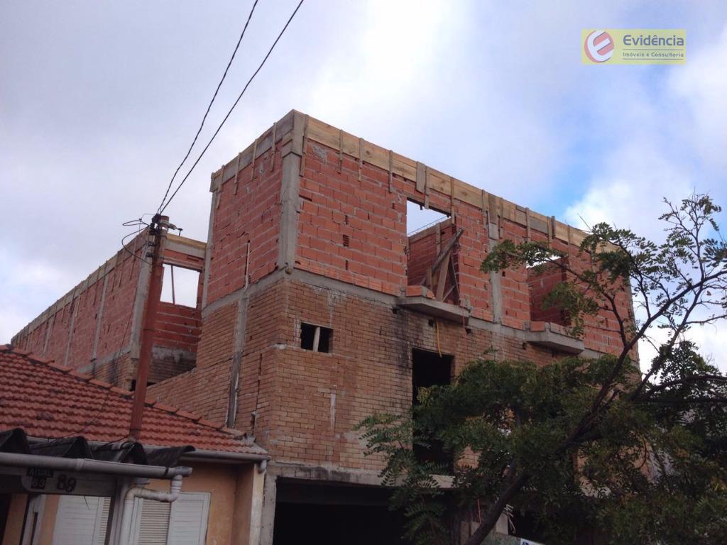 Apartamento residencial à venda, Vila Scarpelli, Santo André - AP0808.