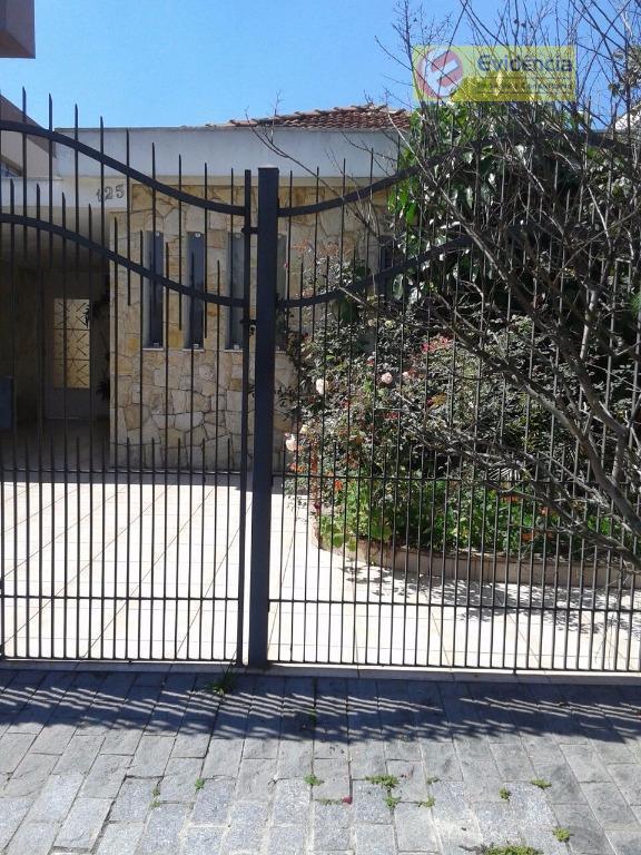 Casa residencial à venda, Jardim Pilar, Santo André.