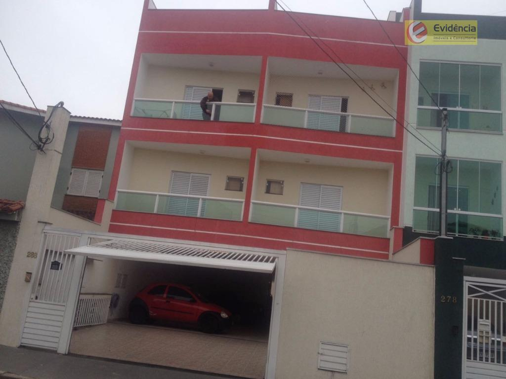 Apartamento residencial à venda, Jardim Ocara, Santo André.