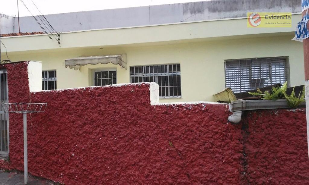 Casa residencial para locação, Vila Scarpelli, Santo André.